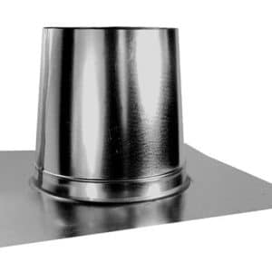 Tall Pipe Flashing - Flat Pitch Roof-0