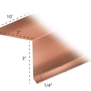 Copper Flashing