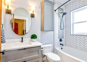bathroom inside a home